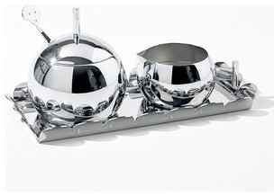 Anna Sugar and Cream Set | Alessi modern-dining-sets