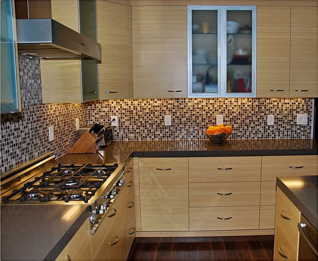 Contemporary Bamboo kitchen contemporary-kitchen