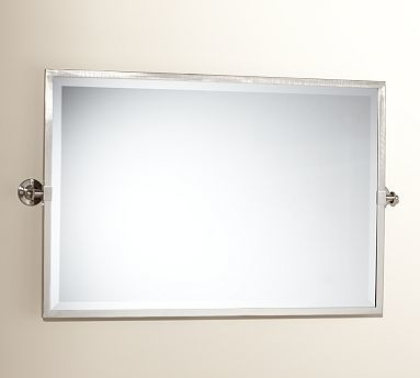kensington pivot mirror extra large wide rectangle satin