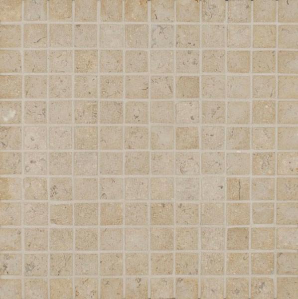 Limestone floor-tiles