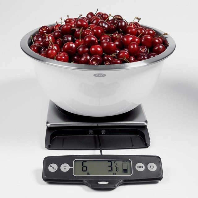 Food Scale with Pull-Out Display modern-timers-thermometers-and-scales