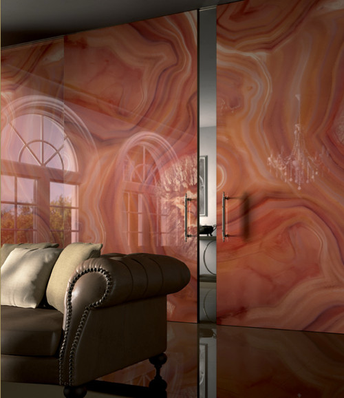 contemporary  Natural Works of Art: Agate in the Home