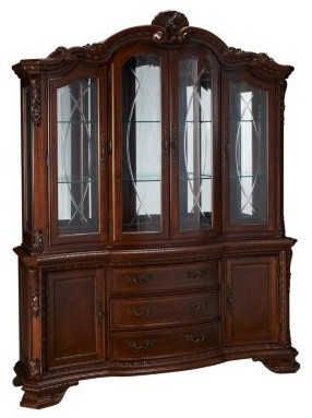 China cabinet with hutch_baroque_Jordans  buffets and sideboards