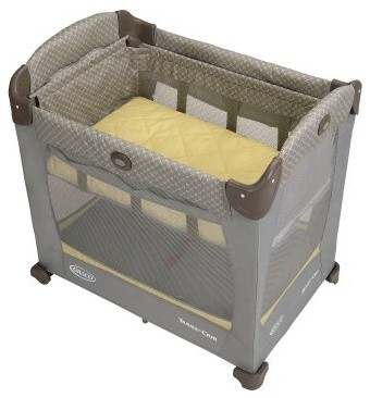 Graco Travel Lite Crib with Stages - Peyton modern-cribs