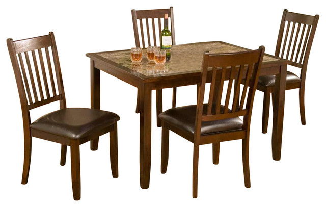 Capitola 5 pc dinette set contemporary dining sets for 8 pc kitchen set