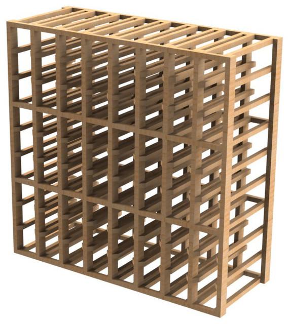 EcoWineracks 8 Column Upper Individual Bottle Rack, Golden Color, Clear Acrylic craftsman-wine-racks