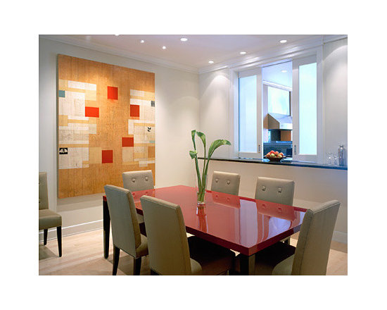 Contemporary funky dining room home design photos decor for Funky dining room ideas