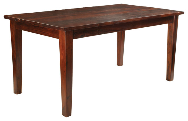 Sheesham Solid Wood Rectangular Dining Table 90 Inch  : rustic dining tables from www.houzz.com size 640 x 412 jpeg 35kB