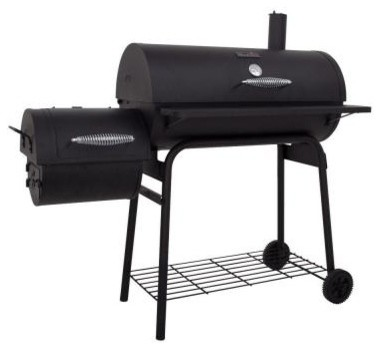 Char-Broil Smokers. American Gourmet 400 Series Charcoal Grill with Offset Fireb contemporary-outdoor-grills