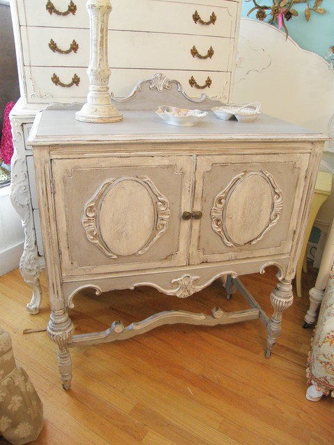 distressed antiques by Vintage Chic Furniture eclectic-furniture