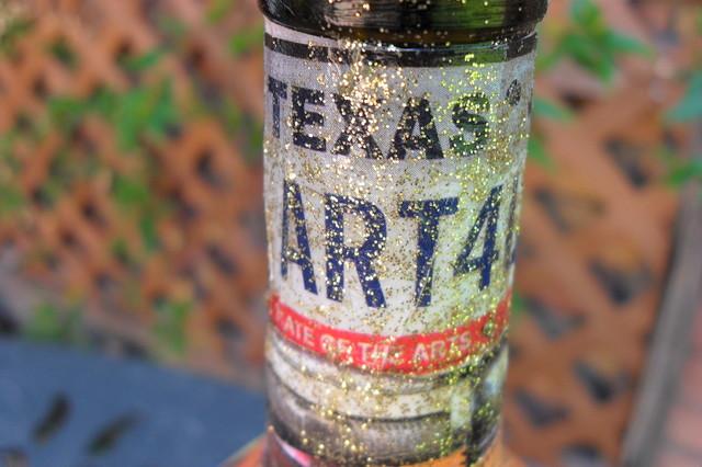 Decorative Bottle For Display, Oils, Salads Dressings, Liquid Soaps, Etc. contemporary-artwork