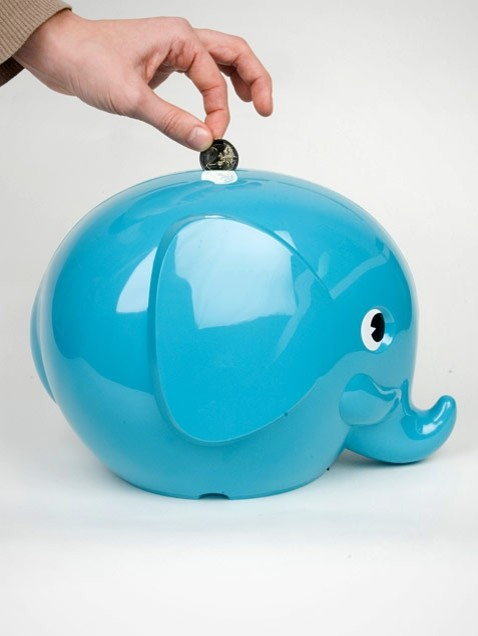 Large Elephant Money Box eclectic accessories and decor