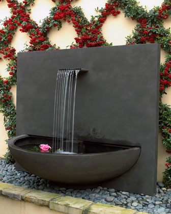 """Brisbane"" Courtyard Fountain contemporary-outdoor-fountains"