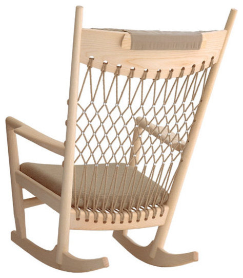 ... PP124 Rocking Chair - Modern - Rocking Chairs - by Danish Design Store