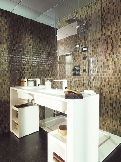 Porcelanosa modern bathroom tile