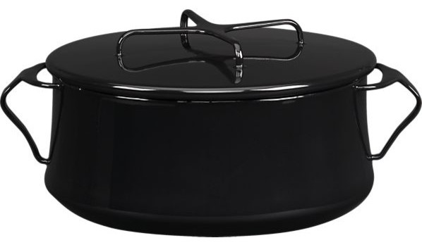 Dansk Kobenstyle Black 4-Quart Casserole contemporary-dutch-ovens-and-casseroles