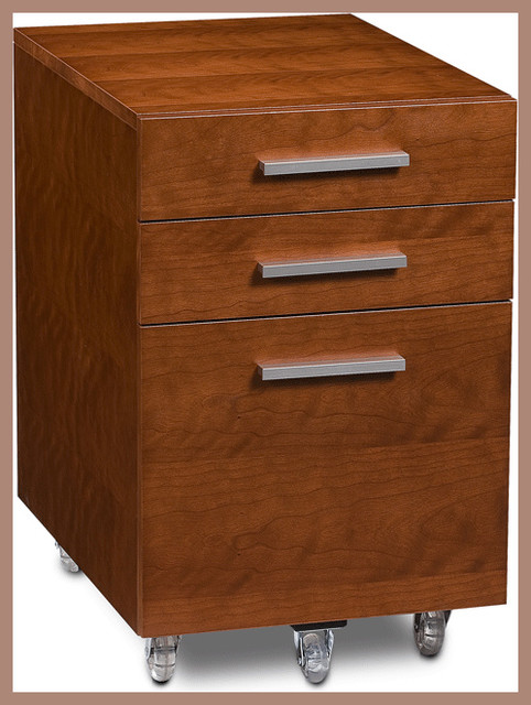 BDI - Sequel 6007 File Pedestal - Modern - Filing Cabinets - by 2Modern