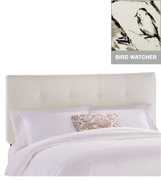 Custom Hadley Upholstered Headboard Traditional Headboards By Home Decorators Collection