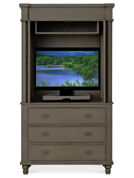 Marcel Armoire with Optional TV Unit
