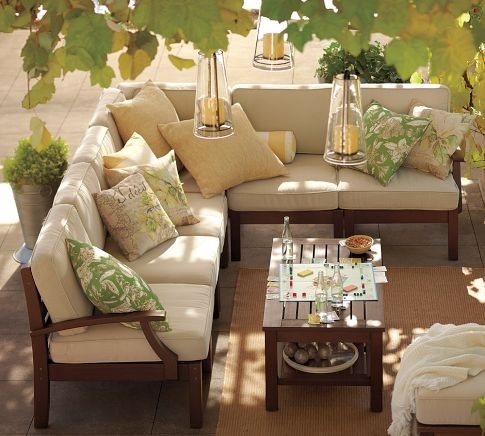 Chesapeake Sectional Components contemporary-outdoor-sofas