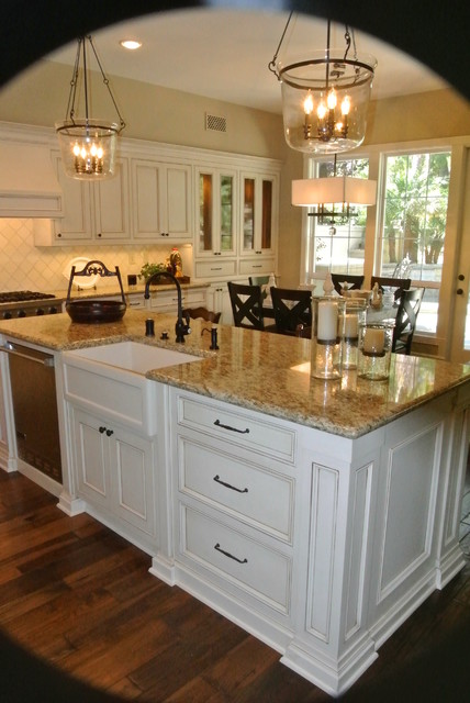 New Port Beach Kitchen Remodel Traditional Orange County By Lew Sabo