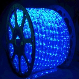 Blue LED Rope Light (150 Spool) - Modern - Outdoor Rope And String Lights - los angeles - by ...