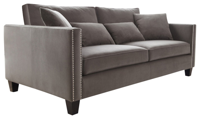 Cathedral Sofa, Grey - Contemporary - Sofas - by Inmod