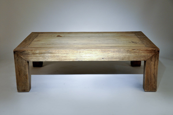 Custom Made Coffee Table eclectic-coffee-tables