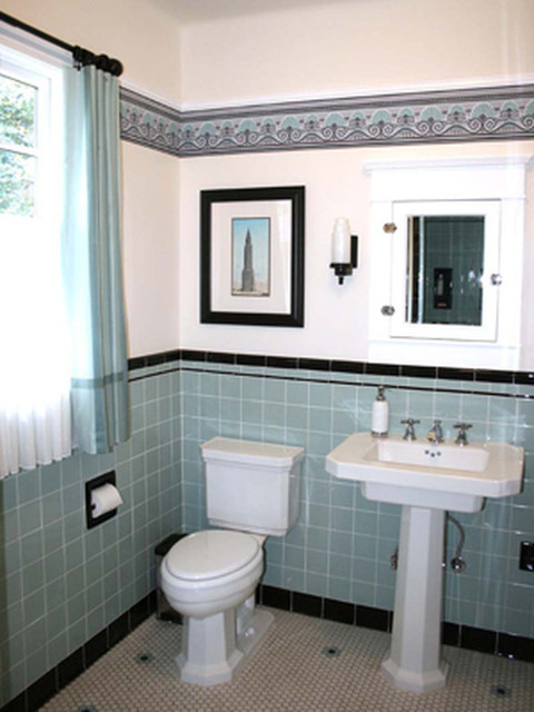 Retro bathroom for 1950s bathroom ideas