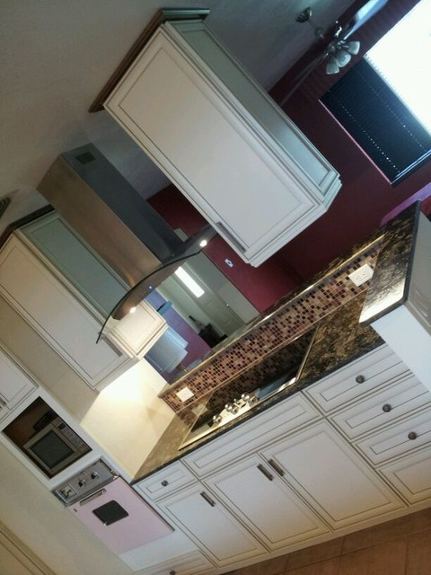 KITCHEN COUNTER TOPS, MARBLE, GRANITE, ONYX AND MORE contemporary-kitchen