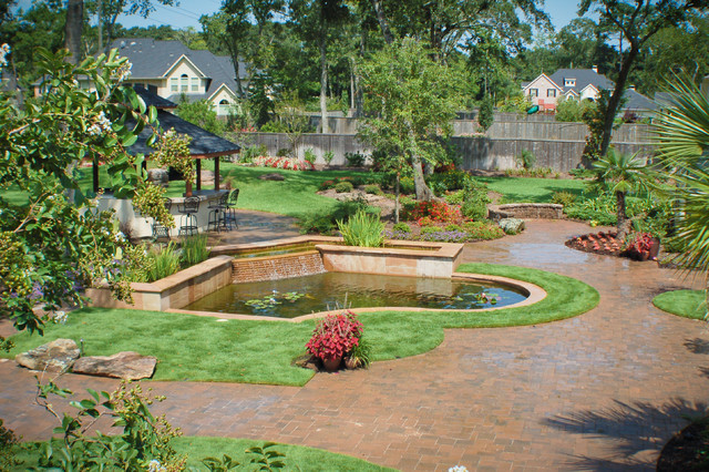 Mirror Lake Designs - Water Features traditional-landscape
