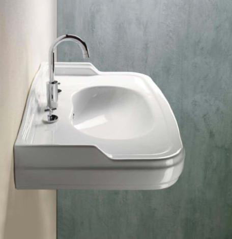 Curved Bathroom Sink : All Products / Bath / Bathroom Sinks