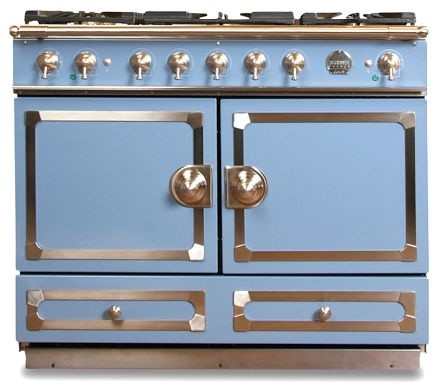 La Cornue CornuFé Stove, Provence Blue modern gas ranges and electric ranges