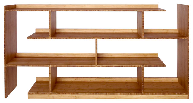 Bamboo Stagger Server, Server Base Unit contemporary-bookcases