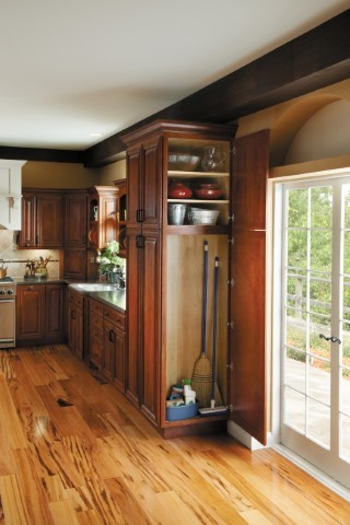 Getting Organized with Fieldstone Cabinetry - Traditional - other metro - by Absolute Kitchen ...