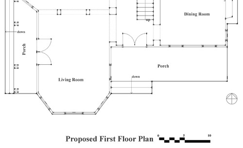 Every Plan Should Include A Legend That Indicates What The Project Is And Floor Of Also Scale 1 4 Inch