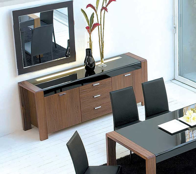 Lira Wooden Buffet With Light By Antonello modern-buffets-and-sideboards