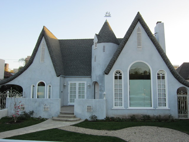 Maryland Drive - French Normandy traditional