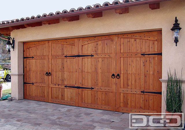 California Dream 22 | A Tuscan Style Garage Door With Decorative Iron ...