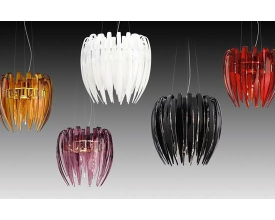 Dracena S Pendant Lamp By Leucos Lighting - Dacena suspension by Leucos is a dramatic and gothic chandelier.