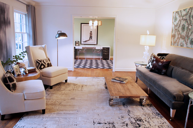lucy and company eclectic-living-room