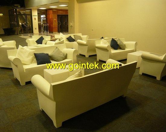 led outdoor single illuminated sofa furniture -
