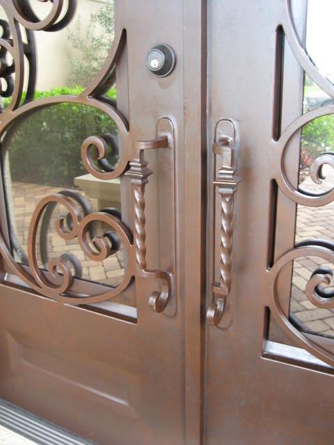 A. C. Residence mediterranean-front-doors