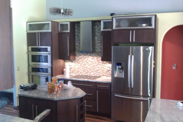 modern kitchen cabinets by Gentry's Product Services LLC