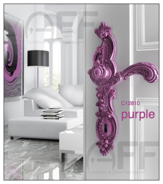 ROCOCO POP - C12810 Purple- Enrico Cassina - Door Levers - Contemporary - new york - by ...