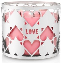 Heart 3-Wick Candle Sleeve - Modern - Candleholders - by Bath & Body Works