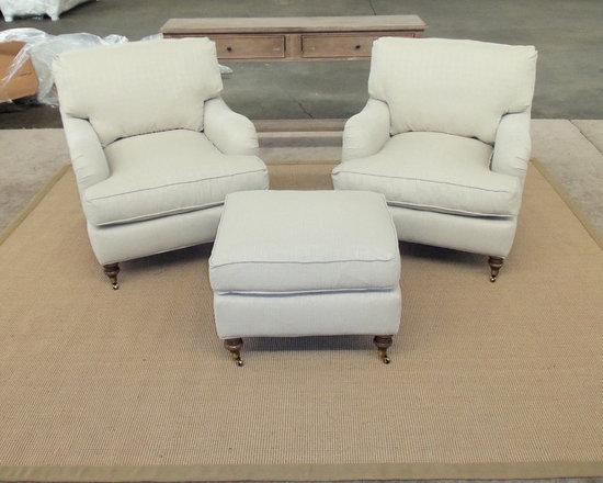 Customer Custom Orders - Robin Bruce Brooke Chairs and Surya Soho Rug
