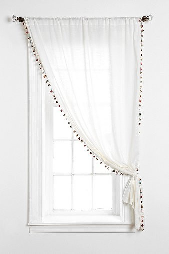 Magical Thinking Pom Pom Curtain Contemporary Curtains By Urban Outfitters