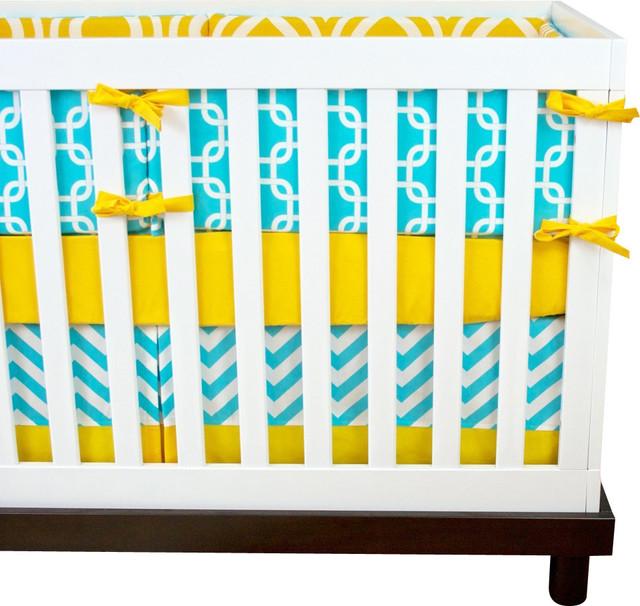 My Sunshine Crib Bedding Set Contemporary Baby Bedding