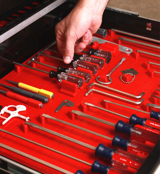 Tool Drawer Liner and Toolbox Organizer System - Garage And Tool Storage - detroit - by Organize-It